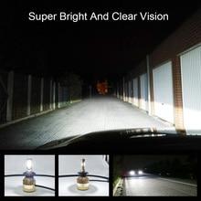 COOLFOX 자동차 조명 LED H4 9003 9005 9006 H1 H3 H8 H11 H7 Led Canbus 오류 무료 램프 자동 헤드 라이트 전구 20000lm 200W 백색광