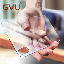 GVU 3D Curved Tempered Glass For iPhone X glass Back Film Protection Explosion-proof Film For Apple iphones X Glass Cover