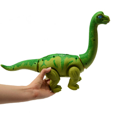 Large Plastic Dinosaur Toys Walking Electronic Gift To The Girl Animals Robot Eggs Interactive For Children Boys