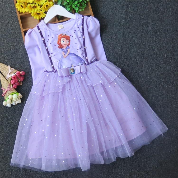 b0d0d44b02ca Παιδικά φόρεμα Άννα   Έλσα   Σοφία   Χιονάτη Φόρεμα κορίτσι κορίτσι ...