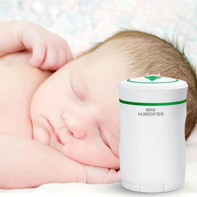 Diffuseur darôme 4 en 1   Mini purificateur dair, support Mobile pour téléphone, diffuseur dhuiles essentielles, lampe de nuit, ventilateur USB