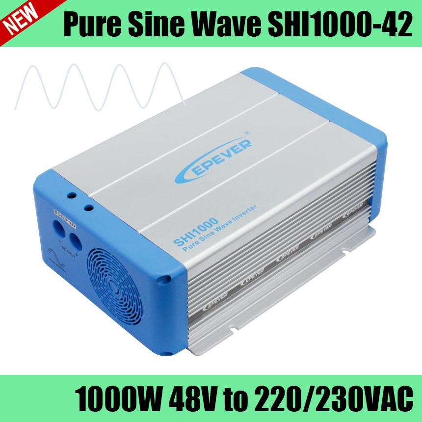 SHI1000-42 48V 1000W pure sine wave full power inverter for using household appliances, solar photovoltaic power system power system моногидрат креатина power system pure creatine 650 гр