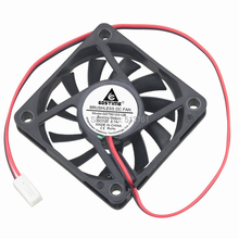 5Pcs Gdstime 60mm PC Cooling CPU Fan 12V 2510 2.54mm Connector Computer Cooler 60x60x10mm 6cm цены