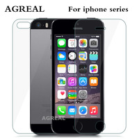 2PCS= Front + Back Screen Protector Tempered Glass for iphone 6 4 4s 7 Plus Explosion Proof Protective Film For iPhone 5 5S SE