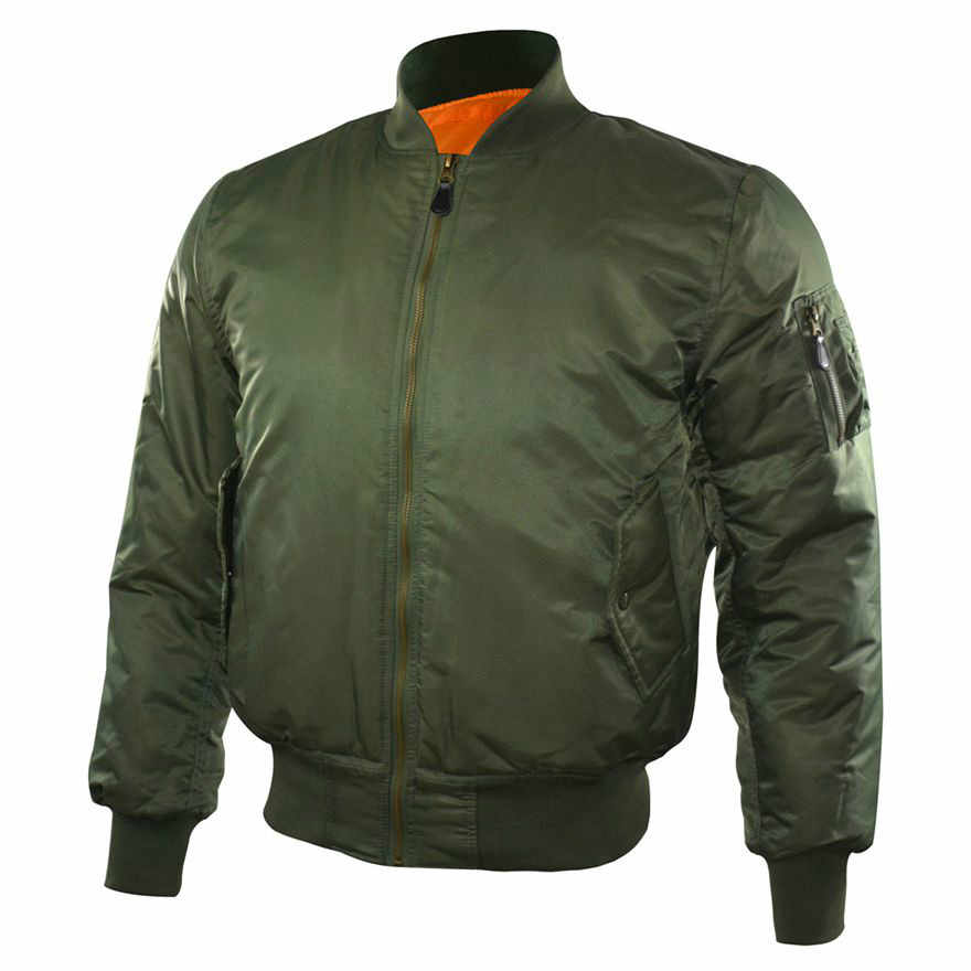 MA1 de los hombres de invierno cálido militar aire vuelo bombardero táctico chaqueta Fuerza Aérea del Ejército volar piloto chaqueta/chaqueta de abrigo