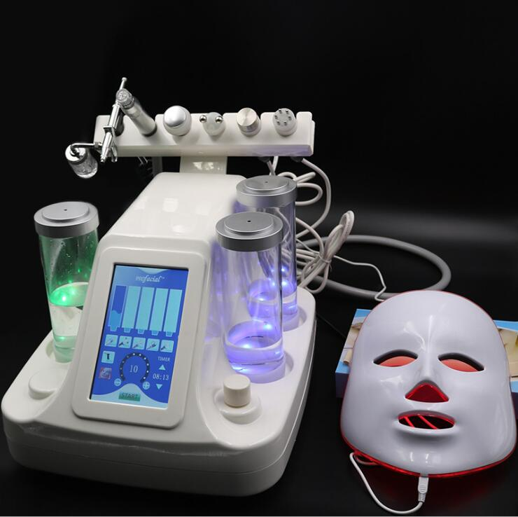 2019 Hot Sale Ultrasonic Skin Deep Cleaning Beauty Equipment Hydra Dermabrasion Skin Peeling Home Use