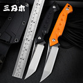 Sanrenmu S761 Новый фиксированный нож 8cr13mov лезвие G10 Ручка Открытый kydex кемпинг выживания тактический охотничий Полный Тан нож