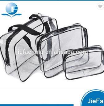 Hotel Travel Kit Colorful Polyester Women Necessary Cosmetic Bag