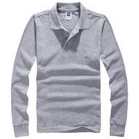 New Brand Men Tshirt Solid Long Sleeve Slim Fit T Shirt Mens Cotton T Shirt Casual