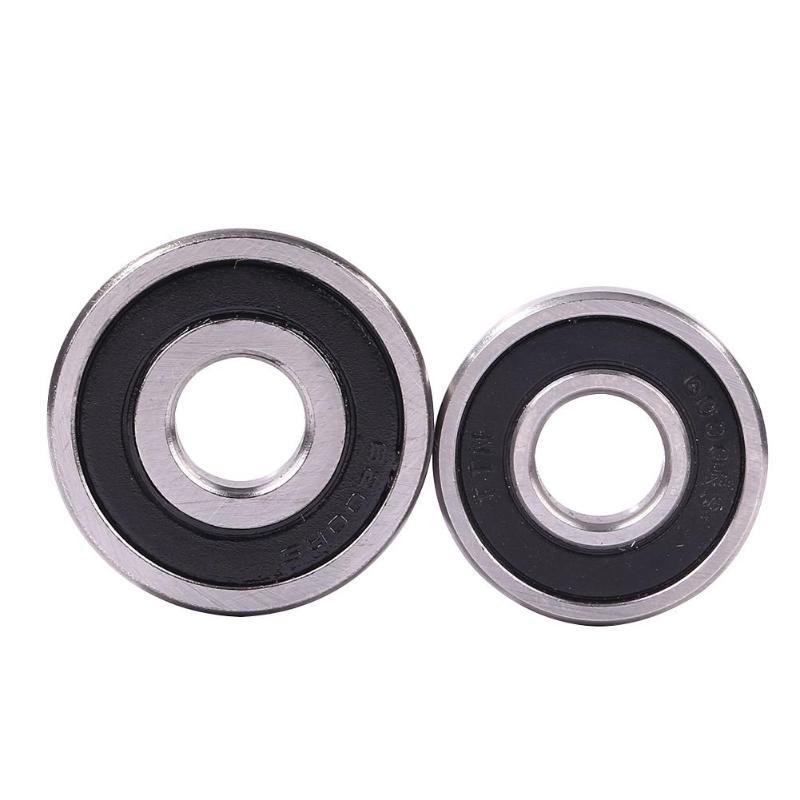 2pcs 6000/6200 Cycling Bearings MTB Front Rear Solid Bearings Riding Mountain Bike Steel Bearing Repair Tools