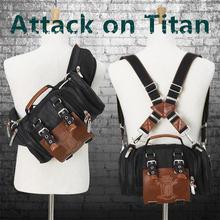 """Хит продаж обувь для косплея; Аниме рюкзак """"атака на Титанов"""""""