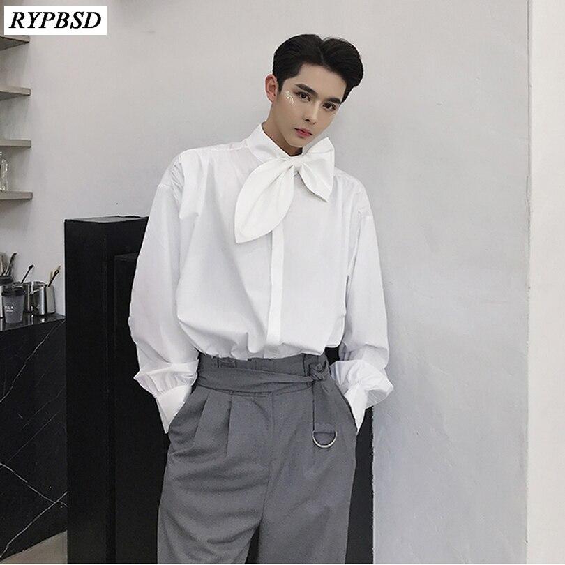 white shirt black tie
