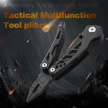 New 2019 Multitools Folding Plier Stainless PE86A-H Multi Tools Household Screwdriver saw Outdoor Camping Survival