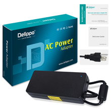 Delippo 19.5V 6.7A 130W AC Laptop Adapter Charger For DELL XPS 14 L401X 15 L501X L502x 17 L701X L702X M170 M2010 Power Supply