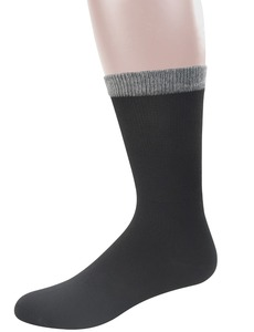 Image 3 - Best Mens Bamboo Mid Calf Diabetic Socks With Seamless Toe,6 Pairs L Size(Socks Size:10 13)