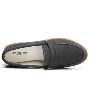Image 5 - O16U Vrouwen Ballet flats schoenen Suede Leather Slip op Dames leuke casual Schoenen olorful Vrouwelijke Klassieke Loafers Schoeisel Lente