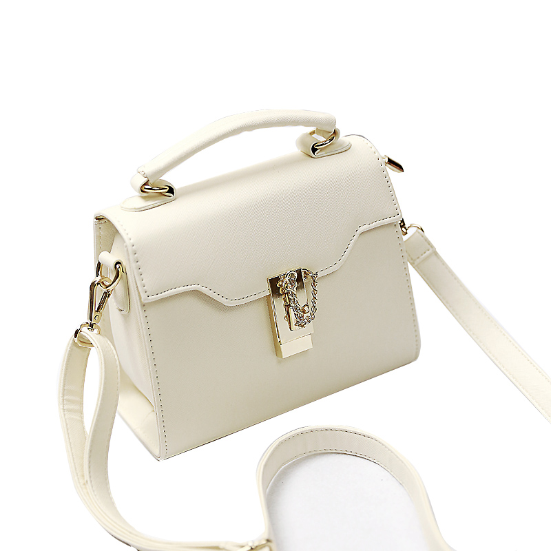 Amasie Women Fashion Leather Tote Lady Crossbody Bag Designer Brand Female Bolsas Sequined 3 Size White Bag EGT0346 alfani new bright white sequined chevron print blouse women s size xs $69 384