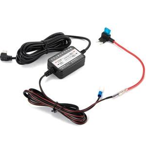 Image 2 - 3.2 متر 12 فولت 24 فولت إلى 5 فولت 2.5A مايكرو USB سيارة داش كاميرا شاحن محول كام الصلب سلك DVR هاردوير عدة ل شاومي 70Mai YI 360