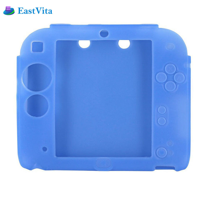 Colorful Ultra Thin Soft Rubber Silicone Case Fundas for 2DS Gel Protective Cover Skin Housse For Nintend 2DS Game Accessories