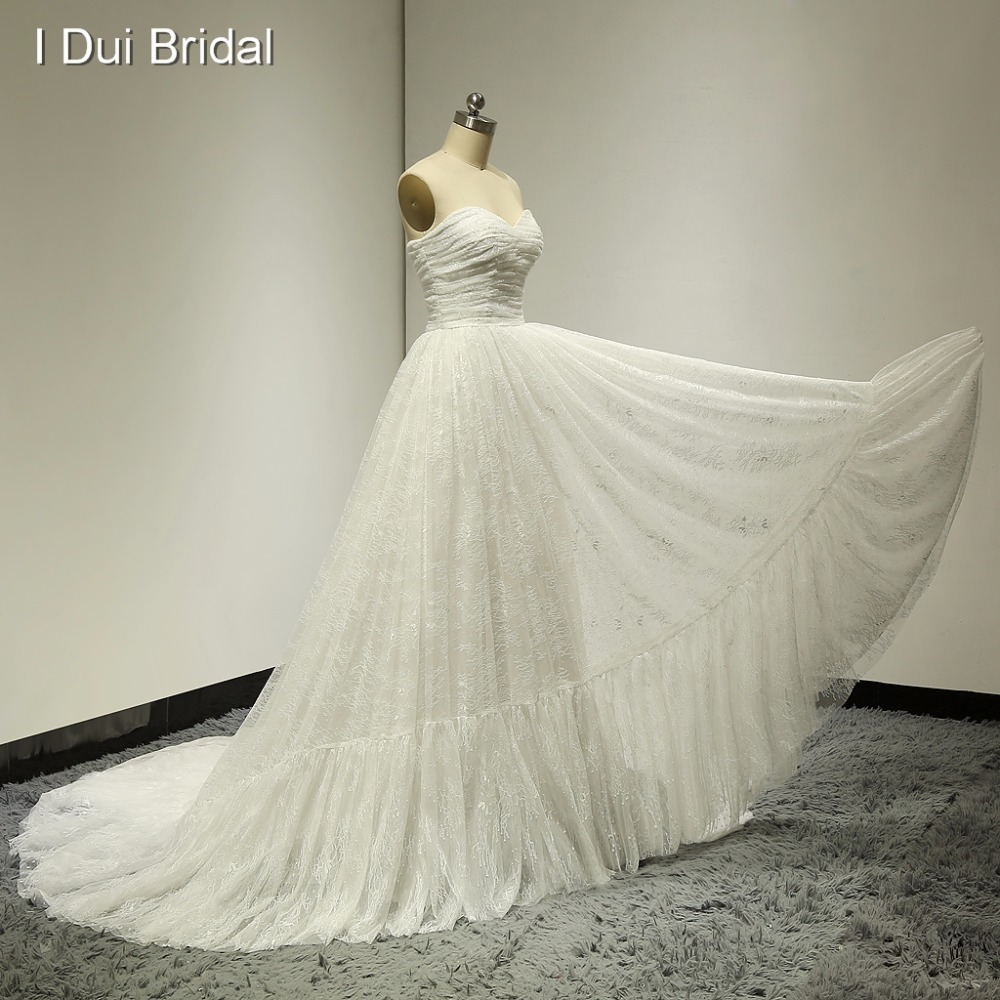 الحبيب الرباط فساتين الزفاف الصورة الحقيقية ريال صور رائعة مصنع مطوي مخصص تصميم أنيق ELS-006
