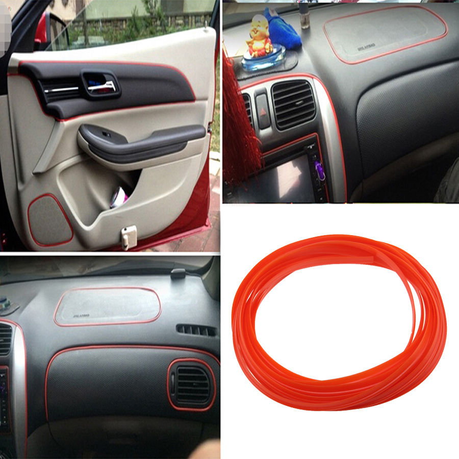 buttons product outlet air thread car decor insert decoration interior strip dashboard generation type update sticker accessories decorative