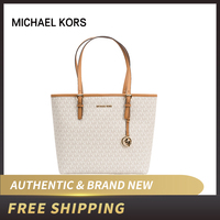 Authentic Original & Brand new Michael Kors JET SET TRAVEL 35H7STVT2L CARRYALL TOTE Schwarz leather bag women bag/womens' pouch