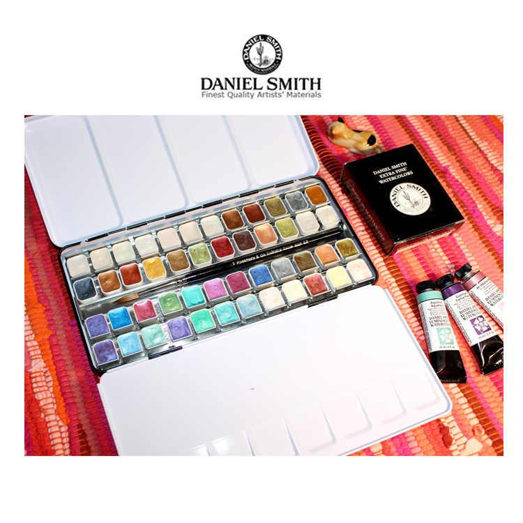 Paquete de 48 colores de pintura de la acuarela de las perlas de los DS de la acuarela