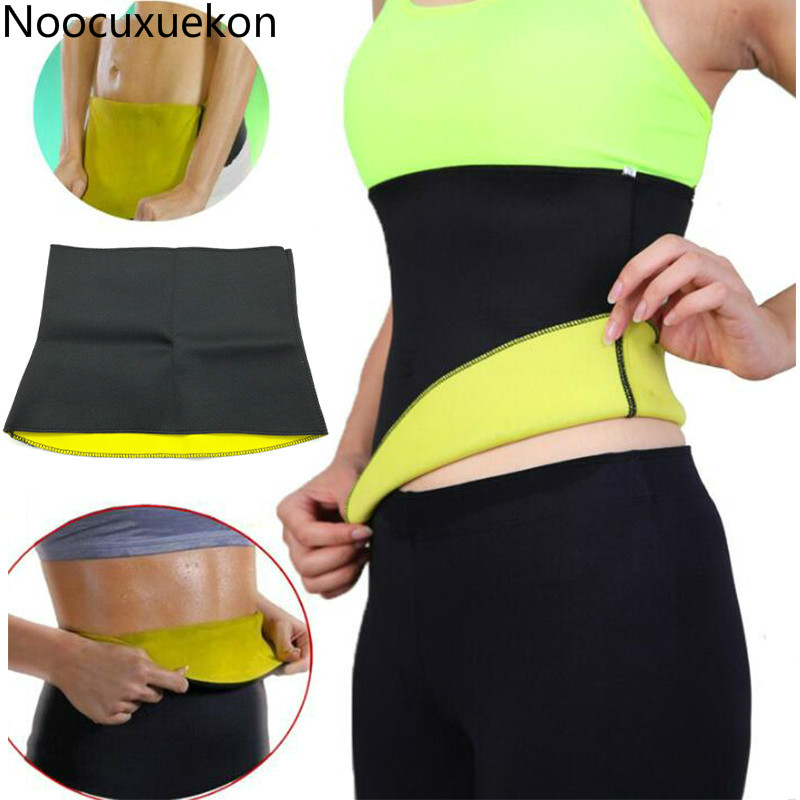 S-3XL Women Shaper Neoprene Abdominal Slimming Belt Sweat Sauna Neoprene Body Shaper Belt Hot Shapers Waist Trainer Corset