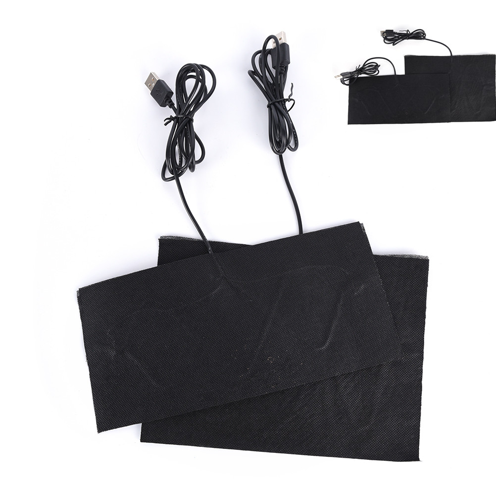 1PC Carbon Fiber Heating Pad Hand Warmer USB Heating Film Electric Winter Infrared Fever Heat Mat Warm Pads