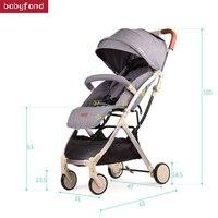2018 Детские коляски зонтик свет младенца коляски корзину портативный путешествия детская корзину может быть на плоскости
