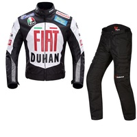Free Shipping 1set New Motorcycle Clothing Race Suit Racing Jacket Removable Cotton Lining Motorcycle Jacket With