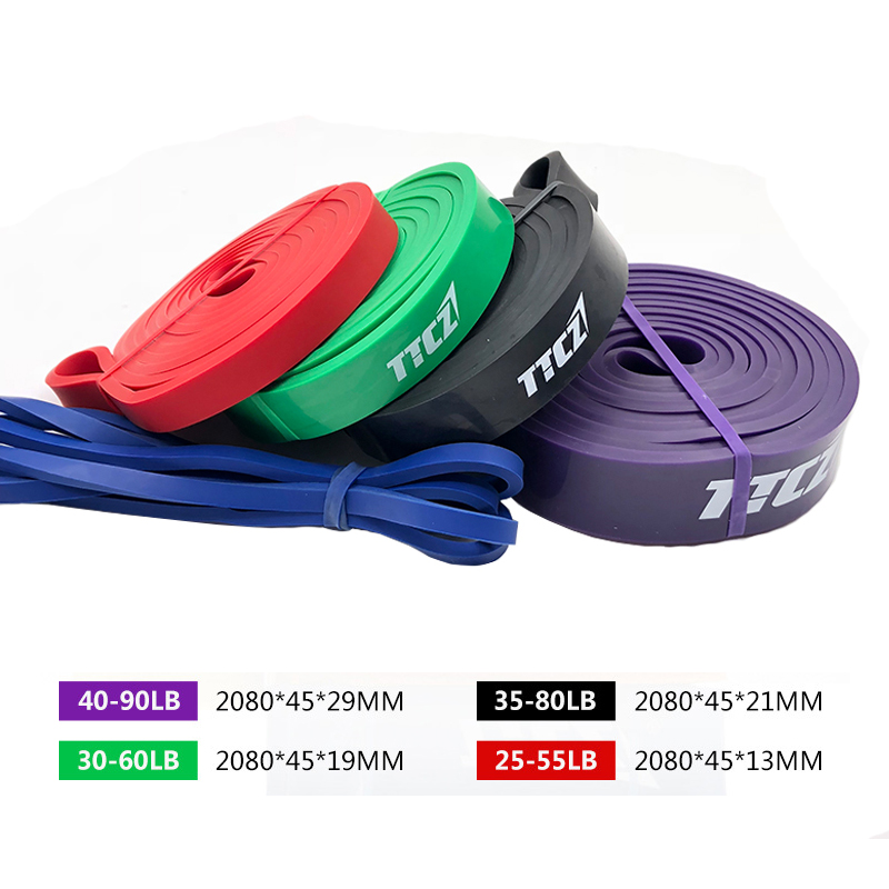 Resistance Bands font b Fitness b font Equipment Exercise Band Rubber Loop Gym Expander Strengthen Training