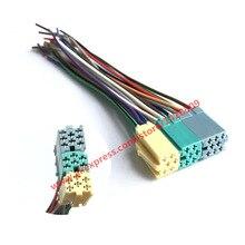 Универсальный ISO радио провода жгут 20 контактный разъем адаптер штекер комплект Автомобильный CD AUX для VW VM20A