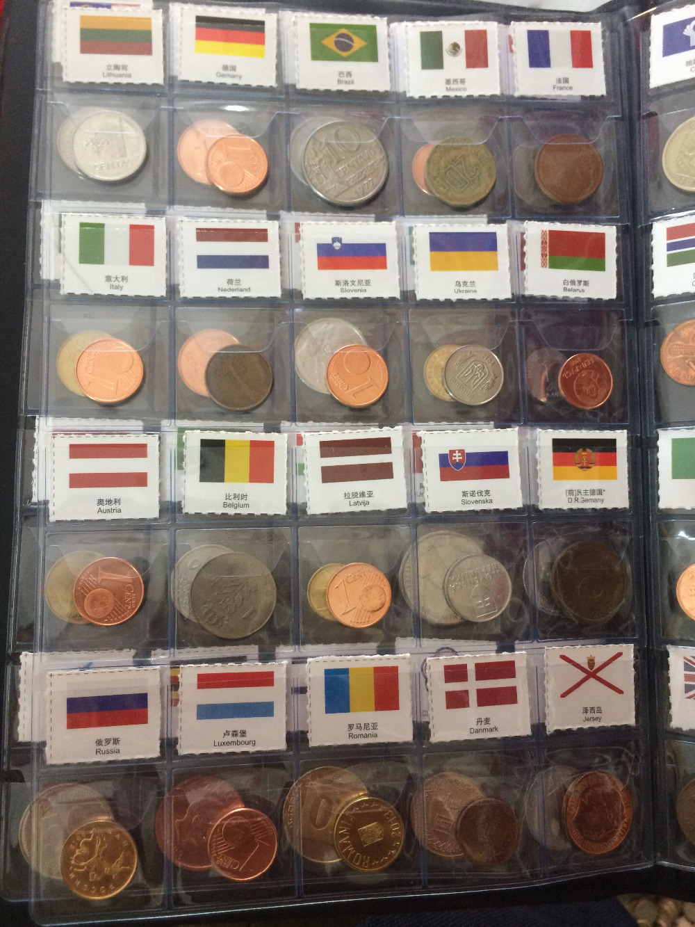 TNUKK  collection COINS of various values in 60 countries,silver coins coin book metal handicraft home decoration.