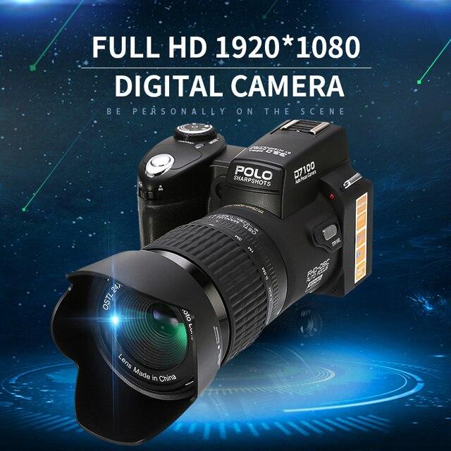 Professionale DSLR Full HD 1920*1080 Macchina Fotografica Digitale Video Supporto SD Card Ottico Portatile Ad Alte Prestazioni