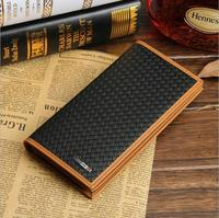 Foreign trade contracted European and American wallet men's long casual zipper vintage wallet men's wallet wholesale