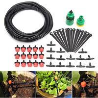 マイクロフロードリップ散水灌漑キットシステム自己植物ガーデンホース散水キット 10 メートルホース