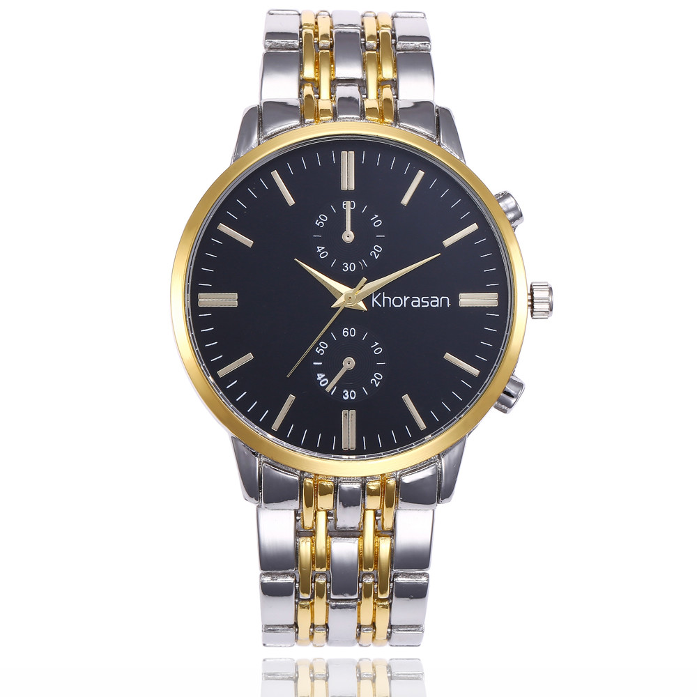 купить Men's Wrist Watch Men Watch Top Brand Luxury Fashion Quartz Watches Male Clock Stainless Steel Men's Watch reloj hombre по цене 286.95 рублей