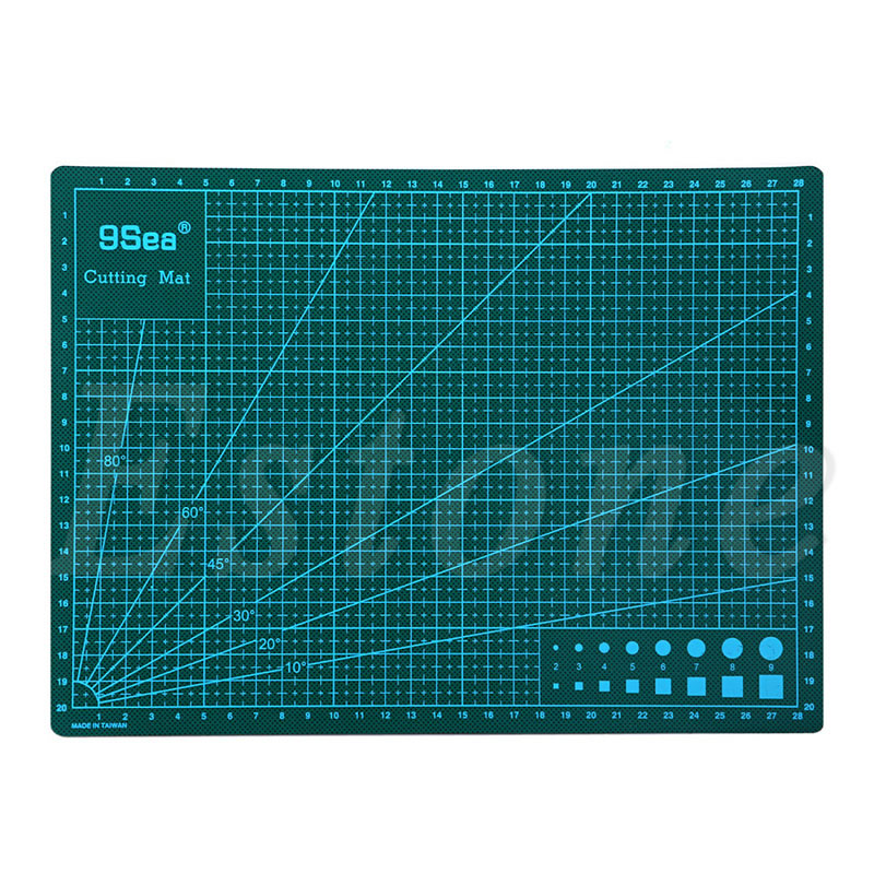 A4 PVC Self Healing Cutting Mat Multifunction Craft Quilting Grid Lines Printed Board 30x22CM a4 grid lines cutting mat craft card fabric leather paper board 30 22cm