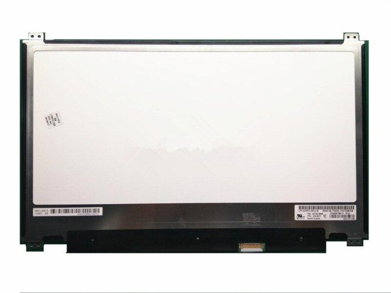 "13.3"" IPS LED LCD Screen Panel Display Matrix LP133WF2 SPL8 LP133WF2-SPL8 Full-HD eDP Laptop Screen 1920x1080 01AV673 30 pins"