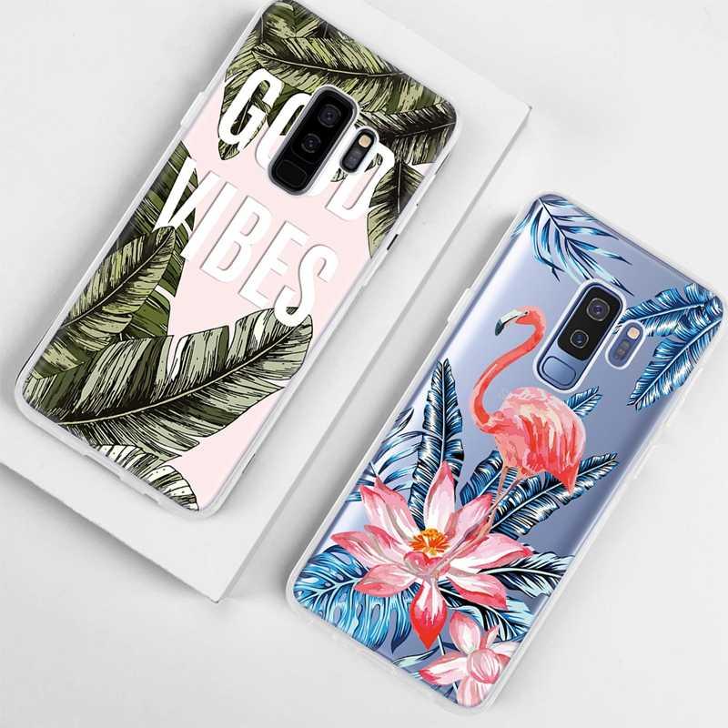 רך TPU דפוס טלפון מקרה לסמסונג גלקסי A8 בתוספת 2018 A10 A20 A30 A40 A50 A60 A70 M10 M20 m30 S9 S8 בתוספת S7 הערה 8 9 כיסוי
