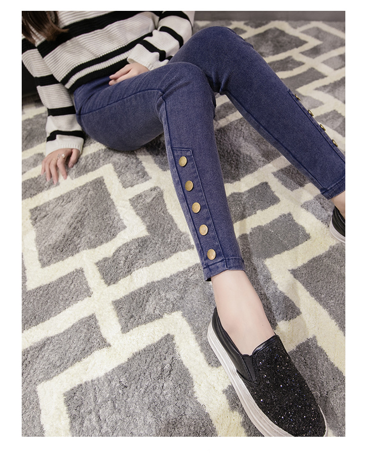 18 New Fashion Jeans Women Pencil Pants High Waist Jeans Sexy Slim Elastic Skinny Pants Trousers Fit Lady Jeans Big Size 1348 8