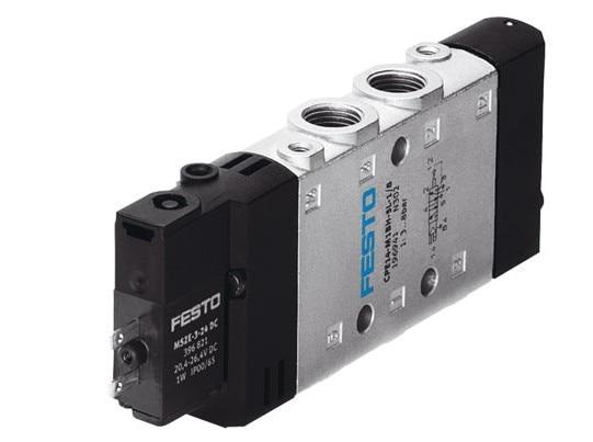 NEW Original German FESTO solenoid valve CPE18-M1H-3GL-QS-8 163149 24V [sa] genuine original special sales festo solenoid valve cpa10 m1h 5js spot 173450 2pcs lot
