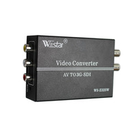 High Quality L R Av 3D DECODER To SDI Converter Cvbs To SD SDI HD SDI
