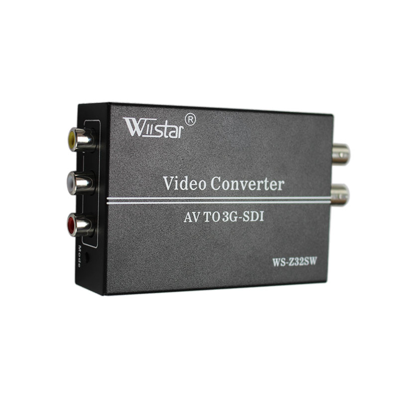 Wiistar AV RCA to SDI Converter CVBS to SD-SDI/HD-SDI/3G-SDI video Converter for HDTV CameraWiistar AV RCA to SDI Converter CVBS to SD-SDI/HD-SDI/3G-SDI video Converter for HDTV Camera