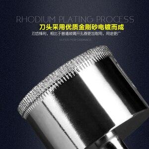 1Pcs 3mm-100mm Dia marmor glas diamant kern bohrer keramik fliesen Perle messer glas dilatator glas bohrer