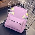 Mulheres mochila nova chegada saco de lona ocasional escola mochila mochilas menina meninas pequenas bolsa escola para meninas das mulheres da forma sacos