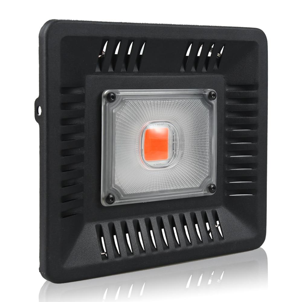 100 W LED Élèvent La Lumière Plein Spectre Ultra Mince Étanche IP67 Fleurs LEDs Croissance Lampe pour Légumes Floraison Intérieur Extérieur usine