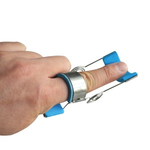 1Pc Spring Finger Corrector Stroke Cerebral Hemiplegia Spasm Fingers Flexion And Extension Rehabilitation Trainer