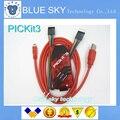 O Envio gratuito de 1 conjunto de PIC, PICKit3 PICKit 3 programador, PIC Kit3, PIC Simulator